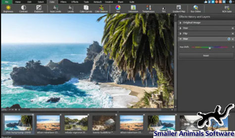PhotoPad Software Pengeditan Foto dan Gambar Dengan Mudah